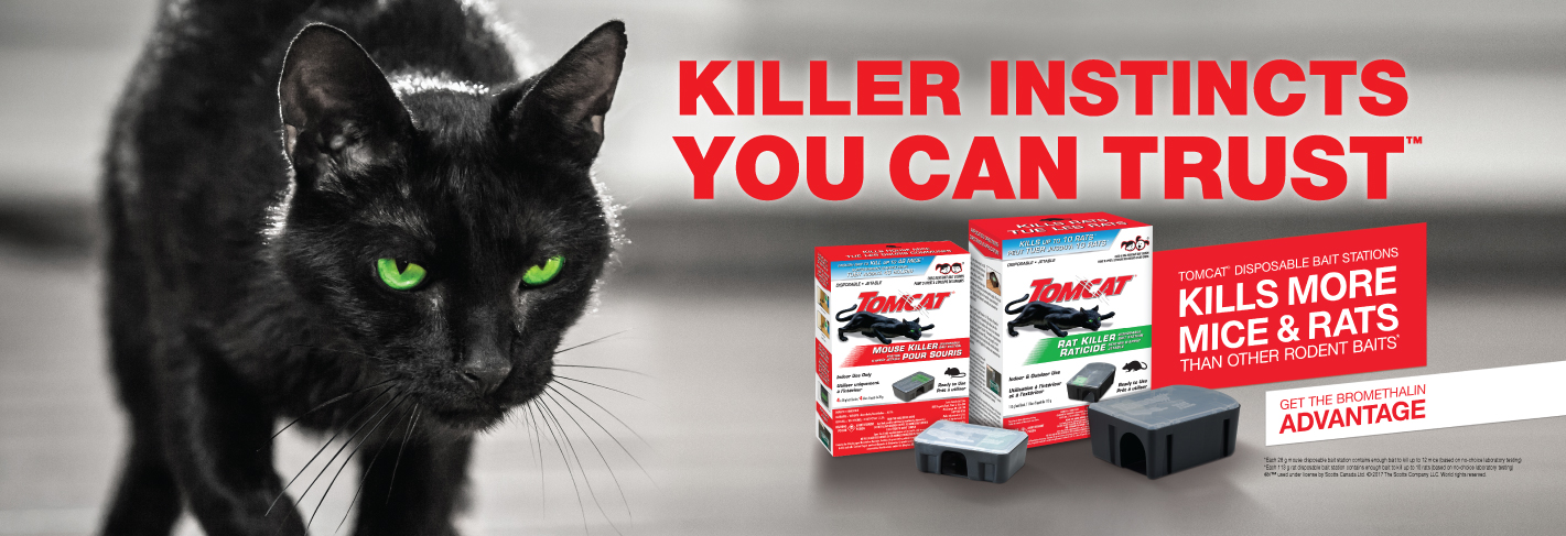 Killer Instincts You Can Trust - Tomcat Disposable Bait Stations
