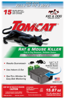 Tomcat® Rat & Mouse Killer Child & Dog Resistant, Refillable Station