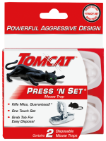 Tomcat® Press 'N Set® Mouse Trap Front