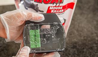 How To Use Bait Stations To Get Rid of Mice & Rats: What a bait station looks like