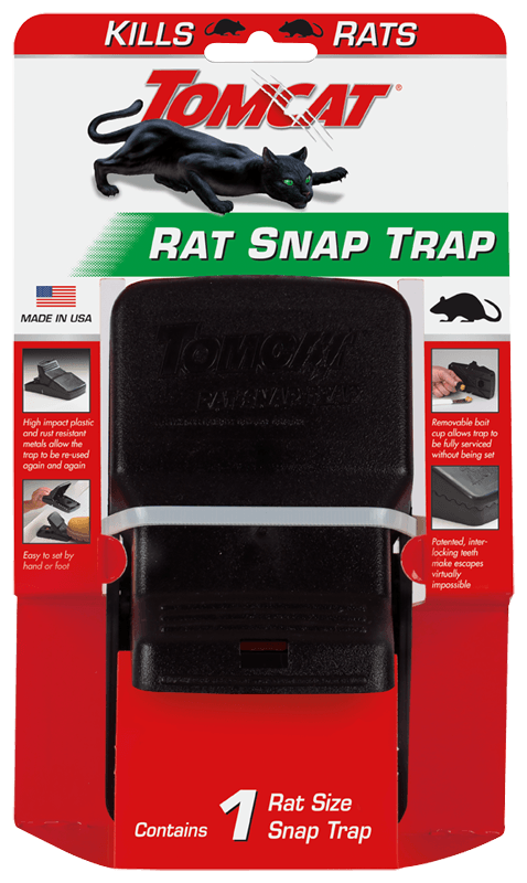 NEW TOMCAT Small Rat Trap Snap Bait Station 0361710 6-Pack!