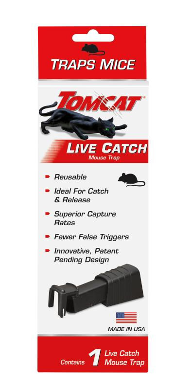 Tomcat® Live Catch Mouse Trap