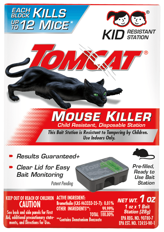 Tomcat Mous Killer Child Resistant Disposable Station