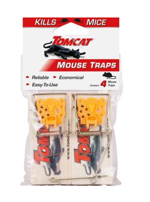 Tomcat® Mouse Traps (Wooden)
