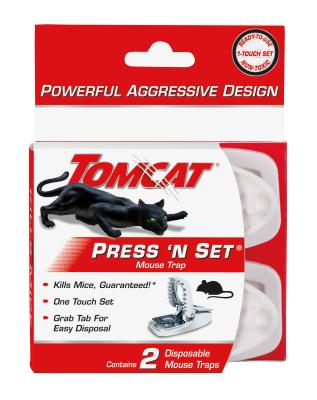 Tomcat® Press 'N Set® Mouse Trap