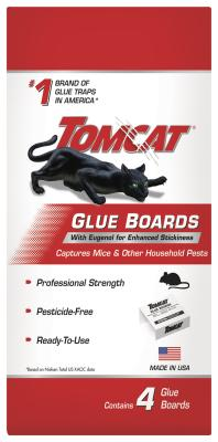 Tomcat® Glue Boards with Eugenol For Enhanced Stickiness