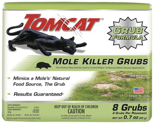 Tomcat® Mole Killer Grubs