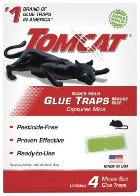 Tomcat® Super Hold Glue Traps Mouse Size