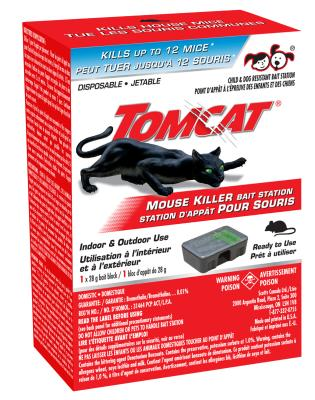 Tomcat® Mouse Killer - Disposable Stations