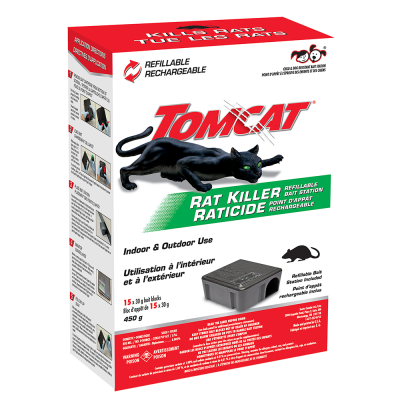 Tomcat® Rat Killer Kid & Dog Resistant Disposable Station