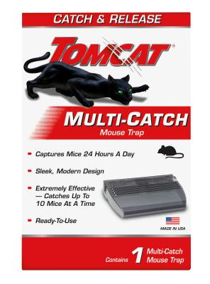 Tomcat® Multi-Catch Mouse Trap